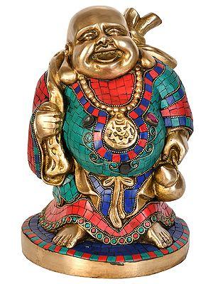 Tibetan Buddhist Laughing Buddha