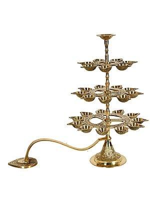 Handheld Aarati-Lamp