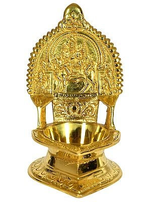 Shiva Parivar Puja Lamp