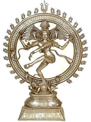 Large Size Nataraja Dancing on Apasmara