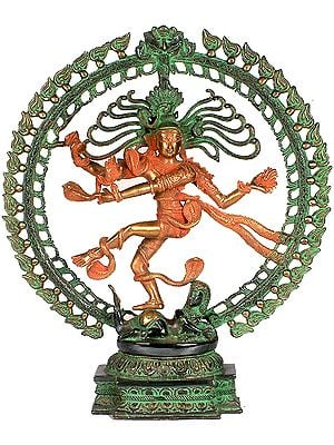 Nataraja with Elaborate Prabha