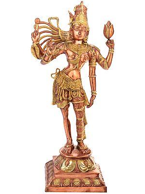 Large Size Ardhanarishvara (Shiva Shakti)