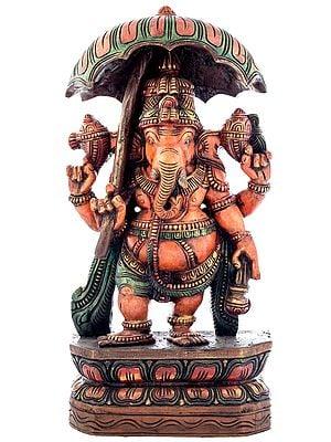 Ganesha with Umbrella