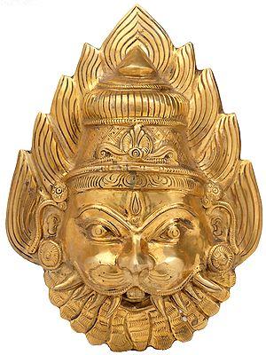 Lord Narasimha Mask (Wall Hanging)