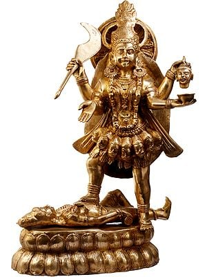 Goddess Kali, The Universal Dominance Of Shakti