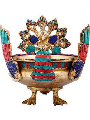 Peacock Urli