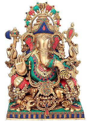 Ornamented Lord Ganesha