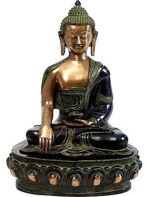 Tibetan Buddhist Deity Shakyamuni Buddha in meditation