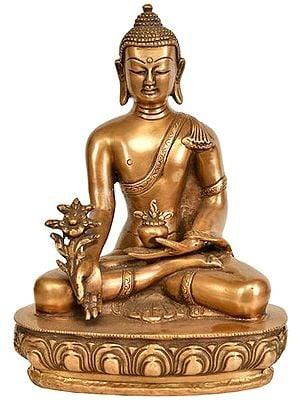 Tibetan Buddhist Deity Medicine Buddha
