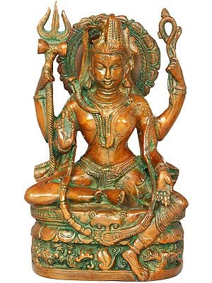 All is Nothing But Shiva and Parvati (Ardhanarishvara)