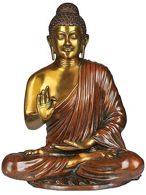 Lord Buddha Interpreting His Dharma