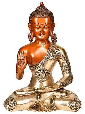 Lord Buddha Preaching His Dharma