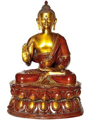 Large Size Gautam Buddha Preaching His Dharma