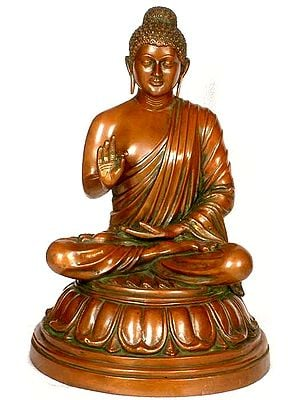 The Preaching Buddha - TIbetan Buddhist