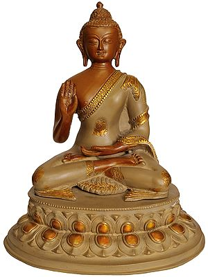 Lord Buddha Granting Abhaya