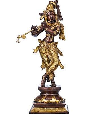 Krishna Playing on Flute