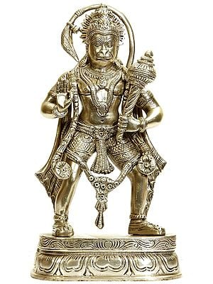 The Divine Strength of Hanuman