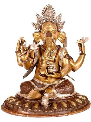 Nepalese Form of Lord Ganesha