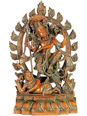 Shiva's Dance of Destruction (Tandava)