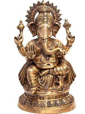 Large Size Ganesha, The Blissful God of Auspices