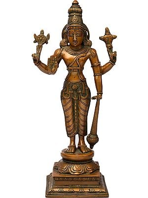 Chaturbhuj Vishnu, Standing