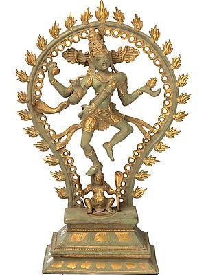 The Graceful Nataraja Atop Apasmara