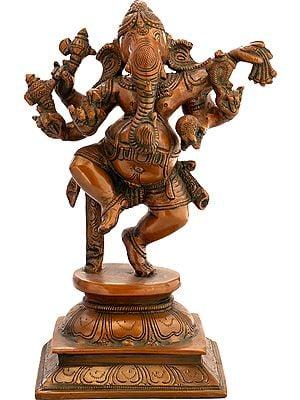Six Armed Nritya Ganesha