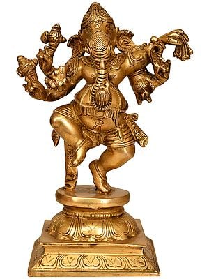 Eight Armed Dancing Ganesha