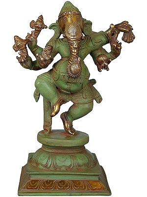 Six Armed Nritya Ganesha