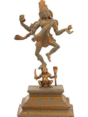 The Graceful Nataraja, Triumphant Over Apasmara