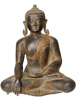 The Buddha In Bhumisparsha Mudra, At The Juncture Of Enlightenment