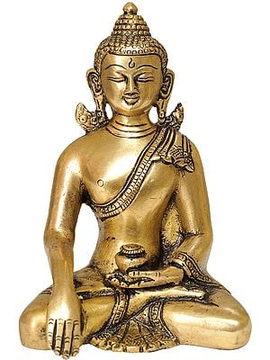Buddha in Earth Touching Gesture (Tibetan Buddhist)