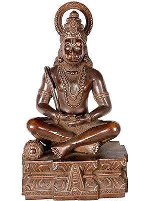 Lord Hanuman as Yogachara