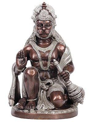 Blessing Lord Hanuman
