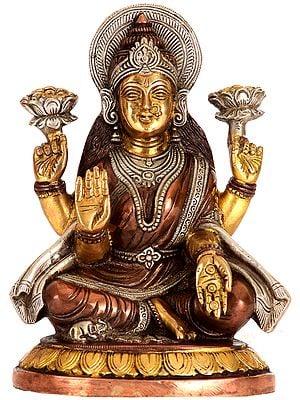 Goddess Lakshmi Raining Gold Coins