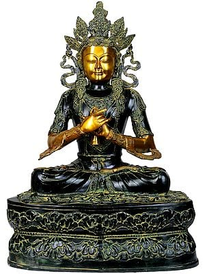 Large Size Crown Buddha