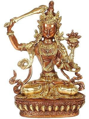 Tibetan Buddhist Deity Manjushri