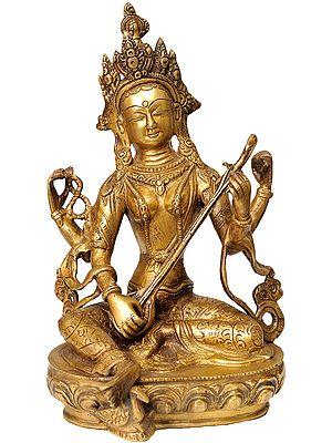 Nepalese Form of Saraswati
