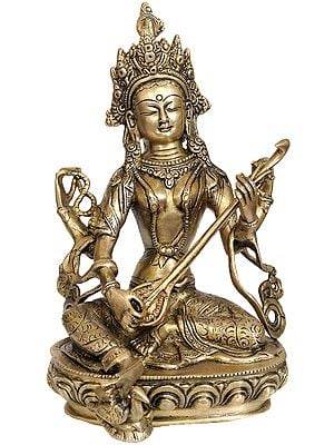 Nepalese Form of Saraswati