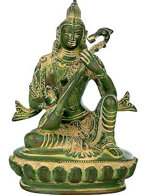 Goddess Saraswati in Nepalese Idiom