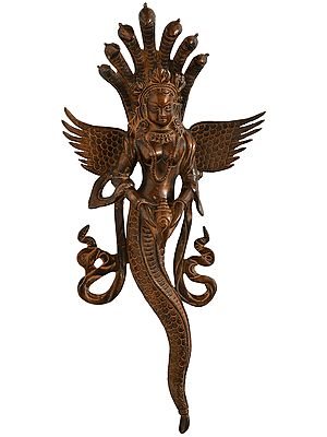 Naga Kanya (Snake Woman) Wall-hanging