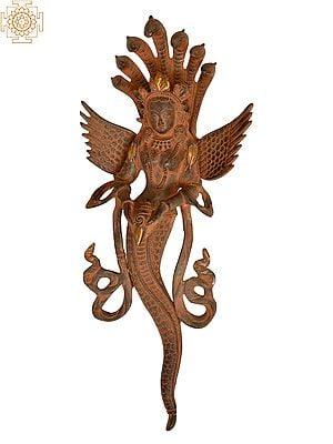 Naga Kanya (Snake Woman) Wall-hanging