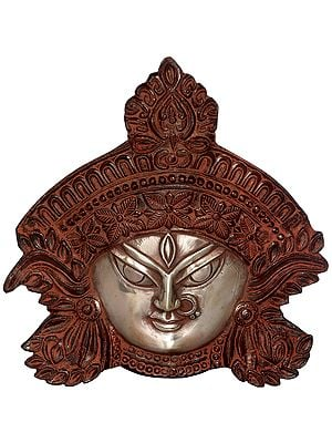Goddess Kali Countenance Wall-hanging