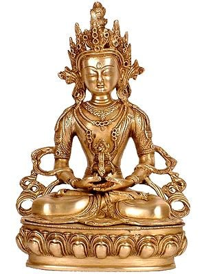 Amitabha Buddha In His Meditative Glory
