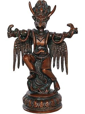 Garuda Clothed In Snakes
