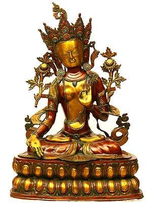 Large Size Tibetan Buddhist Goddess White Tara