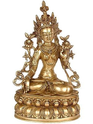 White Tara, Beloved Of Her Devotees
