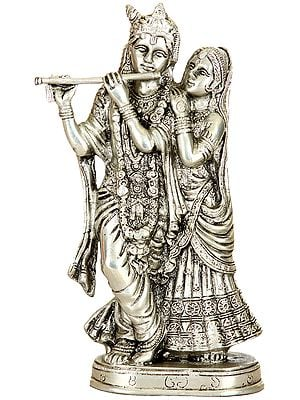 Monotone Radha-Krishna, Contented With Each Other's Company