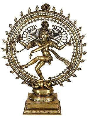 Nataraja, The Ferocity Of His Tandava