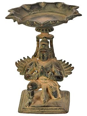 Garuda Lamp, Of The Pointed Beak